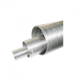 Rura elastyczna jednościenna kwasoodporna o średnicy 80 stalflex