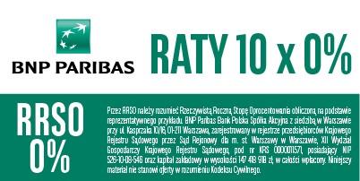 Raty 10x0%